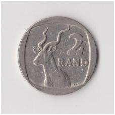 PIETŲ AFRIKA 2 RAND 1989 KM # 139 F