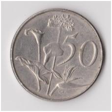 PIETŲ AFRIKA 50 CENTS 1976 KM # 96 VF