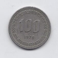PIETŲ KORĖJA 100 WON 1978 KM # 9 VF