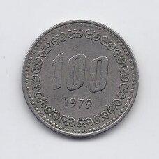 PIETŲ KORĖJA 100 WON 1979 KM # 9 VF