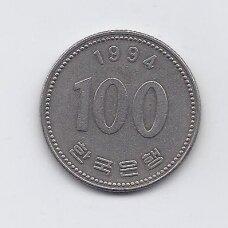 PIETŲ KORĖJA 100 WON 1994 KM # 35.2 VF
