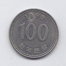 PIETŲ KORĖJA 100 WON 1999 KM # 35.2 XF