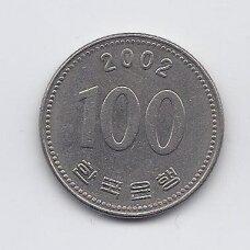PIETŲ KORĖJA 100 WON 2002 KM # 35.2 XF