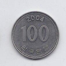 PIETŲ KORĖJA 100 WON 2004 KM # 35.2 XF