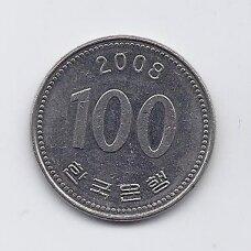 PIETŲ KORĖJA 100 WON 2008 KM # 35.2 XF