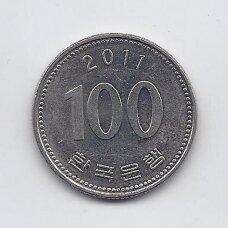 PIETŲ KORĖJA 100 WON 2011 KM # 35.2 XF