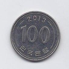 PIETŲ KORĖJA 100 WON 2013 KM # 35.2 XF