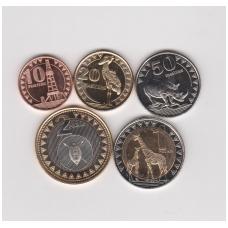 PIETŲ SUDANAS pilnas 5 monetų komplektas 2015 m.