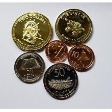 PITKERNO SALOS 2009 m. pilnas monetų komplektas