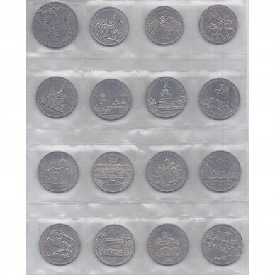 PILNAS SSRS RUBLIŲ RINKINYS ( 64 monetos ) 4