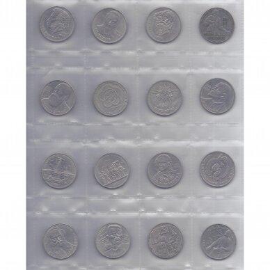 PILNAS SSRS RUBLIŲ RINKINYS ( 64 monetos ) 2