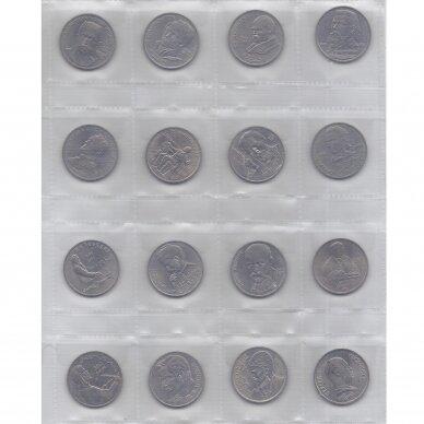 PILNAS SSRS RUBLIŲ RINKINYS ( 64 monetos ) 3