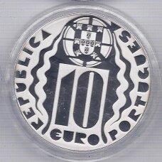 PORTUGALIJA 10 EURO 2004 KM # 759 PROOF OLIMPINĖS ŽAIDYNĖS