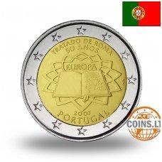 PORTUGALIJA 2 EURAI 2007 50M. ROMOS SUTARČIAI