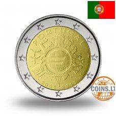 PORTUGALIJA 2 EURAI 2012 10M. EURUI