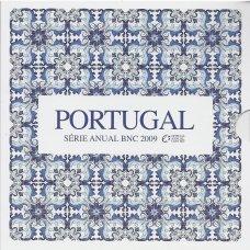 PORTUGALIJA 2009 m. OFICIALUS BANKINIS MONETŲ RINKINYS