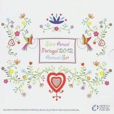 PORTUGALIJA 2012 m. OFICIALUS BANKINIS MONETŲ RINKINYS