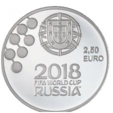 PORTUGALIJA 2.50 EURO 2018 FIFA