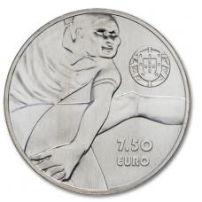 PORTUGALIJA 7.50 EURO 2016 EUSEBIO FUTBOLAS