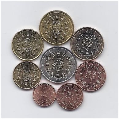 PORTUGALIJA 2004 m. euro monetų komplektas