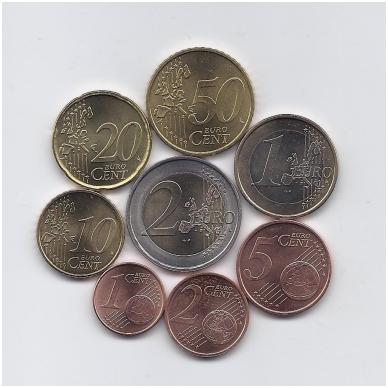 PORTUGALIJA 2004 m. euro monetų komplektas 2