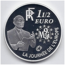 PRANCŪZIJA 1 1/2 EURO 2006 KM # 2037 ŠUMANAS