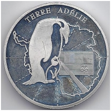 PRANCŪZIJA 1 1/2 EURO 2007 KM # 1576 PROOF