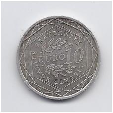 PRANCŪZIJA 10 EURO 2009 KM # 1580 XF