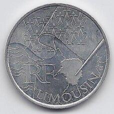 PRANCŪZIJA 10 EURO 2010 KM # 1660 AU LIMOUSIN