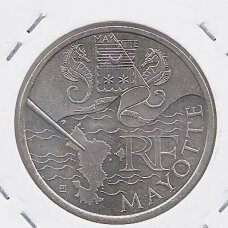 PRANCŪZIJA 10 EURO 2011 KM # 1726 AU Mayotte