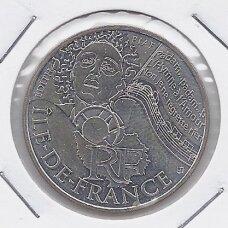 PRANCŪZIJA 10 EURO 2012 KM # 1875 AU Île de France