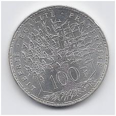 PRANCŪZIJA 100 FRANCS 1982 KM # 951 AU