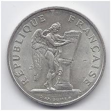 PRANCŪZIJA 100 FRANCS 1989 KM # 970 XF