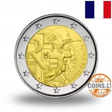 PRANCŪZIJA 2 EURAI 2020 ŠARLIS DE GOLIS