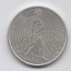 PRANCŪZIJA 25 EURO 2009 KM # 1581 AU