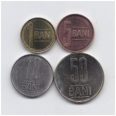 Rumunija 4 monetų rinkinukas