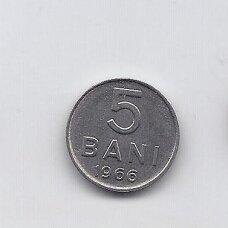 RUMUNIJA 5 BANI 1966 KM # 92 XF