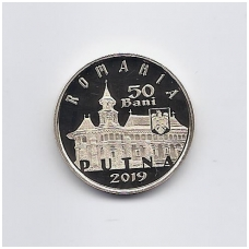 RUMUNIJA 50 BANI 2019 KM # new PROOF PUTNA