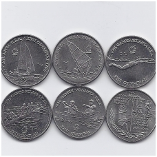RUMUNIJA 6 X 10 LEI 1996 Atlantos olimpinės žaidynės