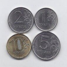 RUSIJA 2020 m. 4 monetų komplektas