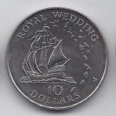 RYTŲ KARIBAI 10 DOLLARS 1981 KM # 9 AU