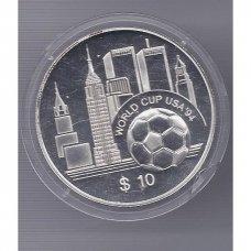 RYTŲ KARIBAI 10 DOLLARS 1994 KM # 27