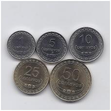 RYTŲ TIMORAS 2004 m. 5 monetų rinkinys