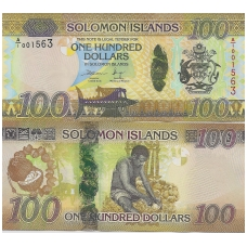 SALIAMONO SALOS 100 DOLLARS ND ( 2017 ) P # 36 UNC