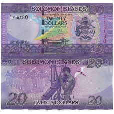 SALIAMONO SALOS 20 DOLLARS ND ( 2017 ) P # 34 UNC