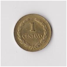 SALVADORAS 1 CENTAVO 1981 KM # 135.2a XF