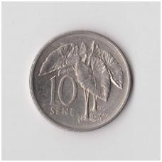 SAMOA 10 SENE 1974 KM # 15 XF