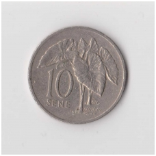 SAMOA 10 SENE 1996 KM # 15 VF