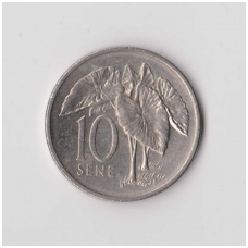 SAMOA 10 SENE 1996 KM # 15 XF
