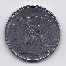SAN MARINAS 100 LIRE 1976 KM # 57 UNC